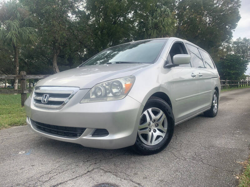 2007 Honda Odyssey for sale at LESS PRICE AUTO BROKER in Hollywood FL