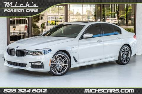 2018 BMW 5 Series for sale at Mich's Foreign Cars in Hickory NC