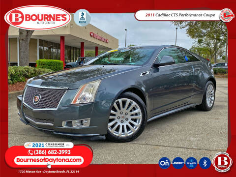 2011 Cadillac CTS for sale at Bourne's Auto Center in Daytona Beach FL