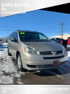 2005 Toyota Sienna for sale at Quality Auto City Inc. in Laramie WY