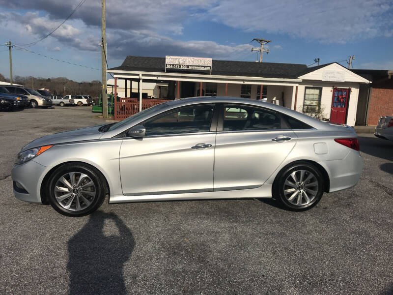 2014 Hyundai Sonata for sale at TAVERN MOTORS in Laurens SC
