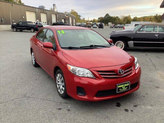 2013 Toyota Corolla for sale at SHAKER VALLEY AUTO SALES in Enfield NH
