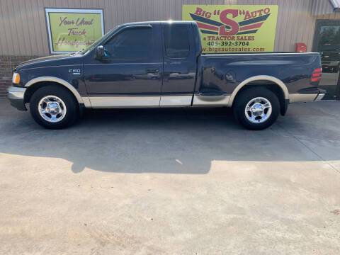 2000 Ford F-150 for sale at BIG 'S' AUTO & TRACTOR SALES in Blanchard OK