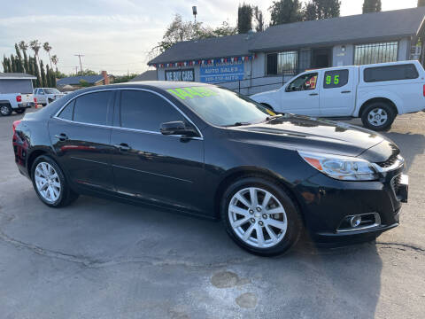 2014 Chevrolet Malibu for sale at Blue Diamond Auto Sales in Ceres CA