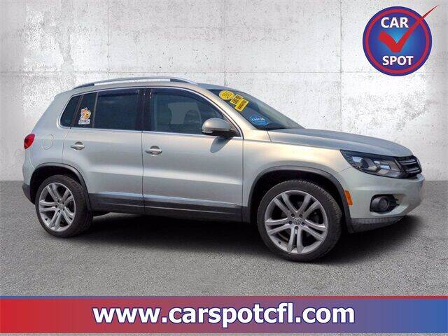 2013 Volkswagen Tiguan for sale at Car Spot Of Central Florida in Melbourne FL