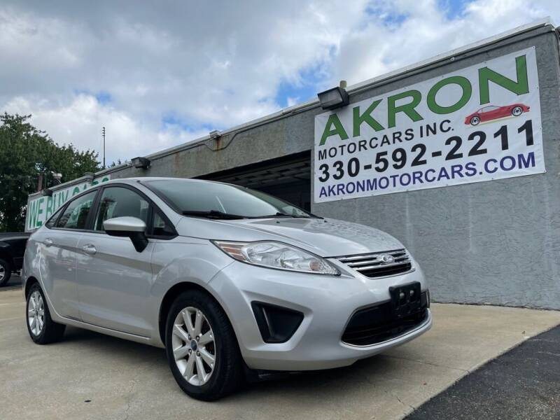 2012 Ford Fiesta for sale at Akron Motorcars Inc. in Akron OH