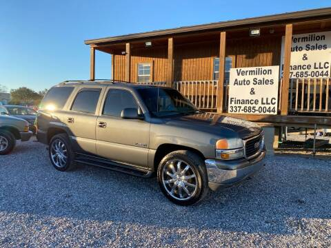 2002 GMC Yukon for sale at Vermilion Auto Sales & Finance in Erath LA