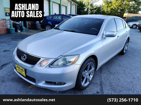 2006 Lexus GS 300 for sale at ASHLAND AUTO SALES in Columbia MO