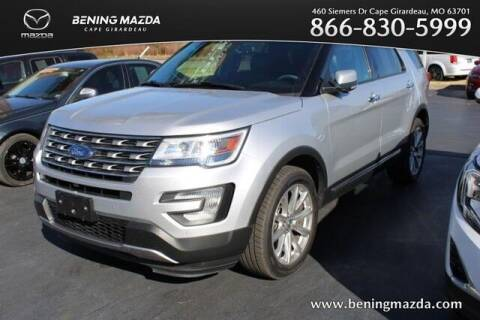 2016 Ford Explorer for sale at Bening Mazda in Cape Girardeau MO