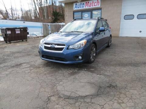 2013 Subaru Impreza for sale at Auto Match in Waterbury CT
