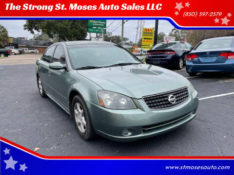 2006 Nissan Altima for sale at The Strong St. Moses Auto Sales LLC in Tallahassee FL