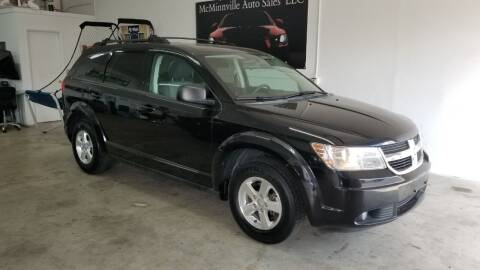2009 Dodge Journey for sale at McMinnville Auto Sales LLC in Mcminnville OR