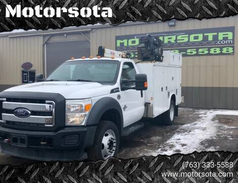 2013 Ford F-550 Super Duty for sale at Motorsota in Becker MN