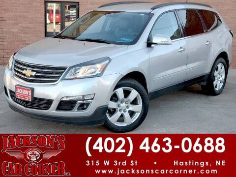 2017 Chevrolet Traverse for sale at Jacksons Car Corner Inc in Hastings NE