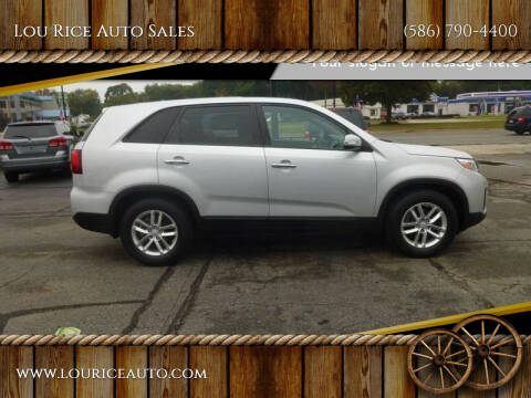 2015 Kia Sorento for sale at Lou Rice Auto Sales in Clinton Township MI