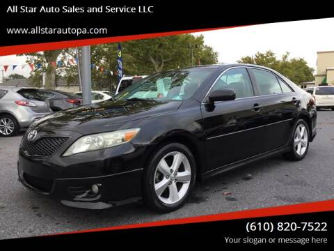 2010 Toyota Camry for sale at All Star Auto Sales and Service LLC in Allentown PA