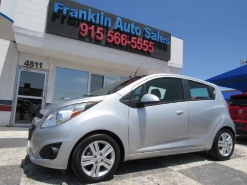 2015 Chevrolet Spark for sale at Franklin Auto Sales in El Paso TX