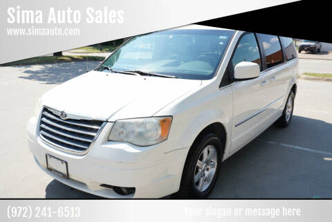2009 Chrysler Town and Country for sale at Sima Auto Sales in Dallas TX