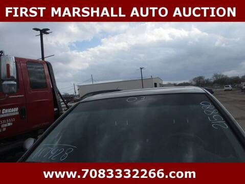 2003 Infiniti I35 for sale at First Marshall Auto Auction in Harvey IL