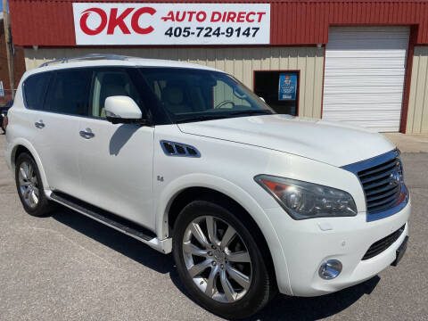 2014 Infiniti QX80 for sale at OKC Auto Direct in Oklahoma City OK