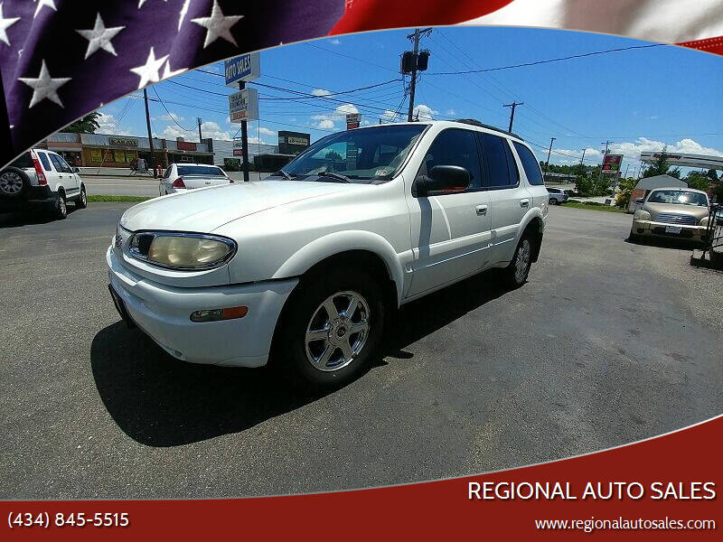 2004 Oldsmobile Bravada for sale at Regional Auto Sales in Madison Heights VA