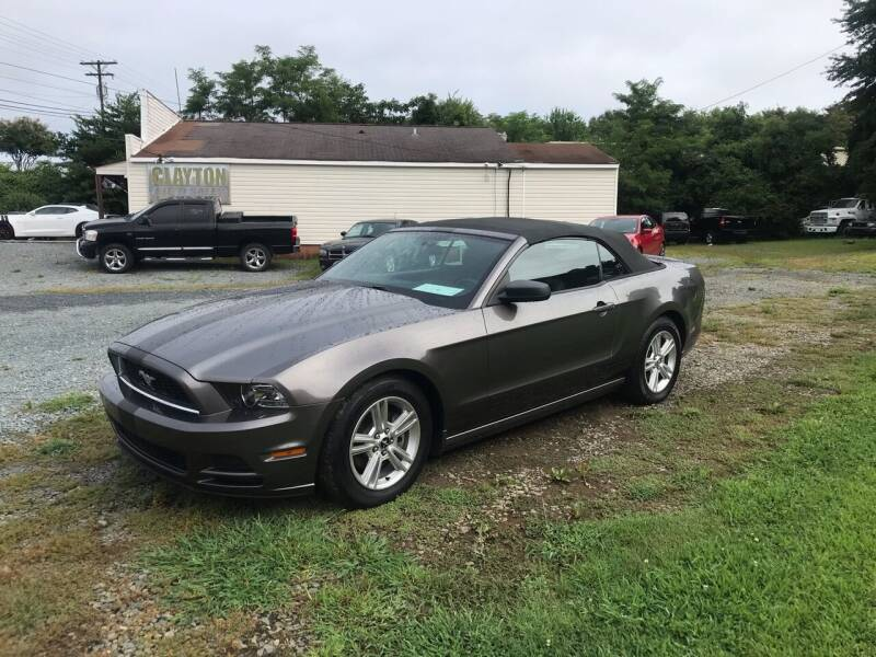2014 Ford Mustang for sale at Clayton Auto Sales in Winston-Salem NC