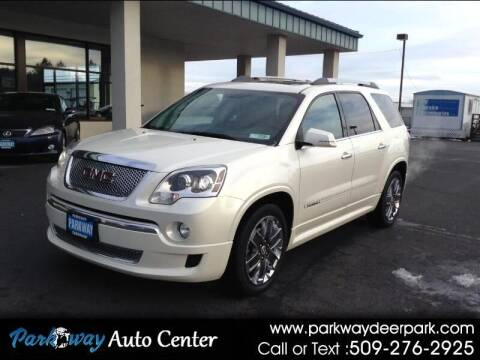 2011 GMC Acadia for sale at PARKWAY AUTO CENTER AND RV in Deer Park WA