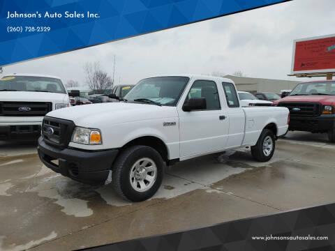 2011 Ford Ranger for sale at Johnson's Auto Sales Inc. in Decatur IN