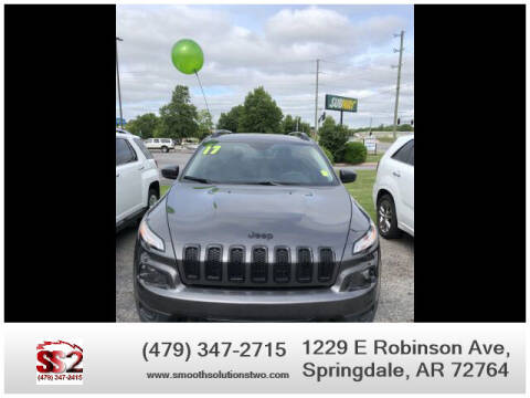 2017 Jeep Cherokee for sale at Smooth Solutions 2 LLC in Springdale AR