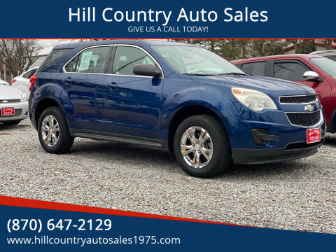 2010 Chevrolet Equinox for sale at Hill Country Auto Sales in Maynard AR