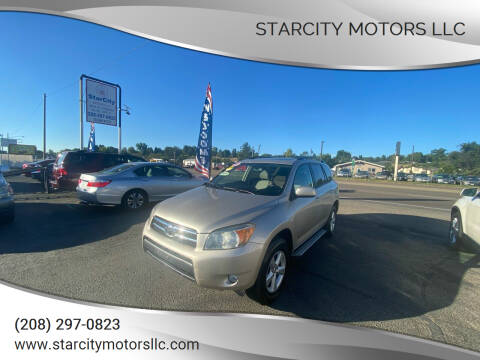 2007 Toyota RAV4 for sale at StarCity Motors LLC in Garden City ID