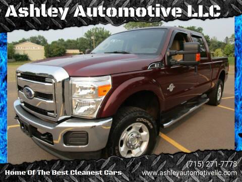 2012 Ford F-250 Super Duty for sale at Ashley Automotive LLC in Altoona WI