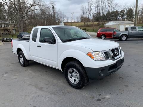 2012 Nissan Frontier for sale at Twin Rocks Auto Sales LLC in Uniontown PA