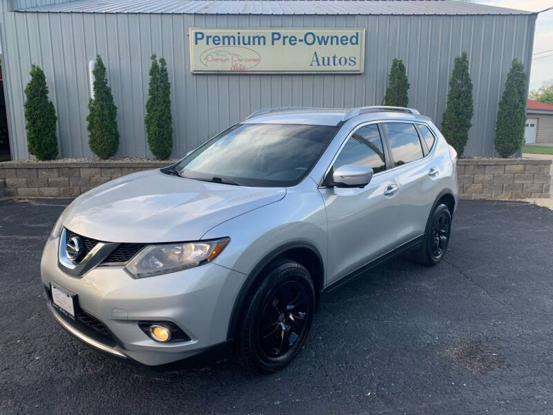 2014 Nissan Rogue for sale at PREMIUM PRE-OWNED AUTOS in East Peoria IL