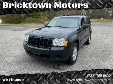 2009 Jeep Grand Cherokee for sale at Bricktown Motors in Brick NJ