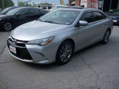 2016 Toyota Camry for sale at Charlies Auto Village in Pelham NH