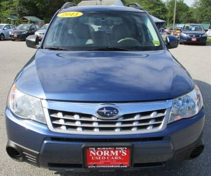 2013 Subaru Forester for sale at Norm's Used Cars INC. in Wiscasset ME