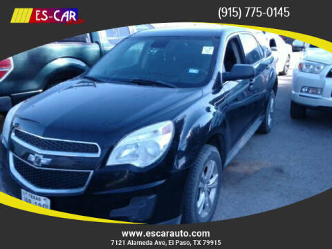 2014 Chevrolet Equinox for sale at Escar Auto in El Paso TX