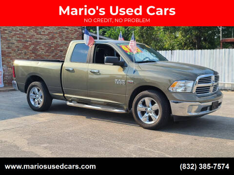 2013 RAM Ram Pickup 1500 for sale at Mario's Used Cars - South Houston Location in South Houston TX
