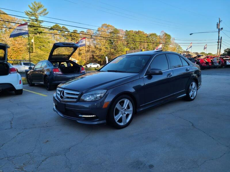 2011 Mercedes-Benz C-Class for sale at DADA AUTO INC in Monroe NC