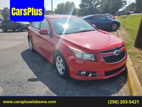 2013 Chevrolet Cruze for sale at CarsPlus in Scottsboro AL