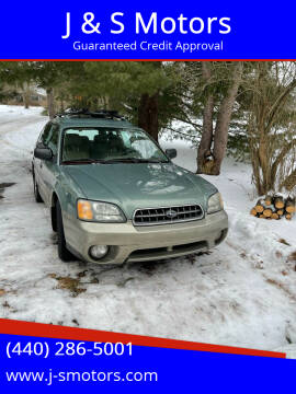 2004 Subaru Outback for sale at J & S Motors in Chardon OH