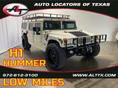 1998 AM General Hummer for sale at AUTO LOCATORS OF TEXAS in Plano TX