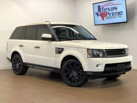 2010 Land Rover Range Rover Sport for sale at Texas Prime Motors in Houston TX