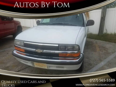 1998 Chevrolet Blazer for sale at Autos by Tom in Largo FL