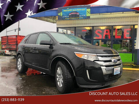 2012 Ford Edge for sale at DISCOUNT AUTO SALES LLC in Lakewood WA
