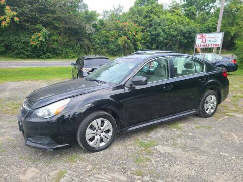 2014 Subaru Legacy for sale at B & B GARAGE LLC in Catskill NY