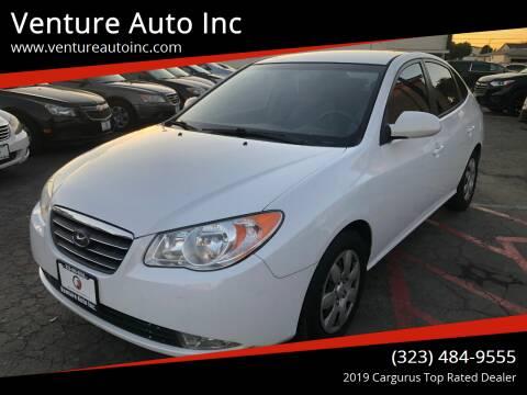 2007 Hyundai Elantra for sale at Venture Auto Inc in South Gate CA