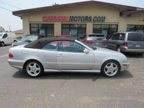2001 Mercedes-Benz CLK for sale at Cardinal Motors in Fairfield OH