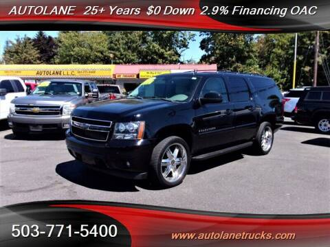 2009 Chevrolet Suburban for sale at Auto Lane in Portland OR
